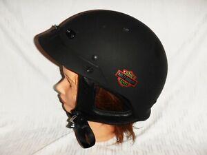 Genuine Harley-Davidson Helmet-Spoiler Flat Black Sz: Large  97353-01V/000L