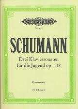 Robert Schumann - Drei Klaviersonaten für die Jugend op. 118