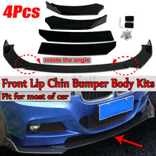 For BMW E90 E91 E92 E93  E82 E88 Front Bumper Lip Body Kit Splitter Spoiler 4X