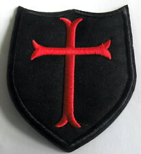 Aufnäher Templerkreuz Tempelritter Templer  Patch Knights Templar x