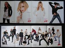 H&M ORIGINAL ITALIAN CATALOG 2006 CONFESSIONS TOUR MADONNA SOFIA CHARM JAMIE....
