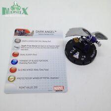 Heroclix Uncanny X-Men set Dark Angel #049 Super Rare figure w/card!