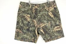 BILLABONG Fleck Military Camo Fern Green Shorts Men's 36 NEW $55