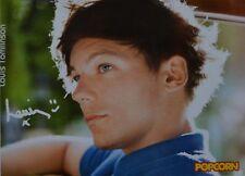 LOUIS TOMLINSON - Autogrammkarte - Autograph Sammlung Clippings One Direction