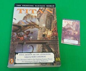 Titan ***MINT UNREAD 1st/3rd A5 EDITION!!*** Fighting Fantasy Puffin #1