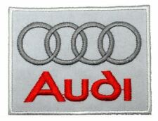 "Audi Motorsport Racing Team 2.2""x2.9"" Logo Sew Iron On Embroidery Applique Patch"