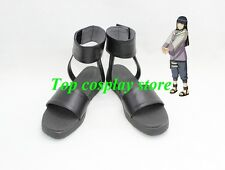 Naruto Hyuga Hinata Cosplay Boots Boot Shoes Shoe Ninjia boot hand made