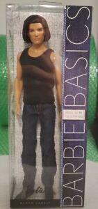 Barbie Basics Ken Doll Model 15 Collection 002 Denim 2010 Black Label T7749 RARE