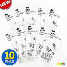 """LOT of 10 Disposable Wrist Strap 12"""" -Prevent Static Shock ESD Grounding 3M 2209"""