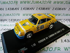 voiture 1/43 HIGH SPEED : PORSCHE 911 carrera RS coupé 2.7 1973 rallye MIB