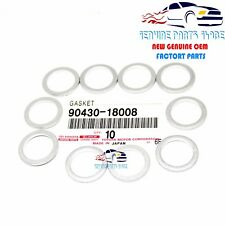 OEM GENUINE TOYOTA DRAIN PLUG GASKET SET 10 X 90430-18008  90430-A0003