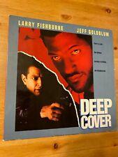 Deep Cover -  Laserdisc Good condition