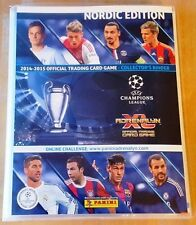 Champions League 14/15 Adrenalyn XL. Complete NORDIC Binder + ALL 49 Limited Edi