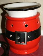 Scentsy Santa Belt Jolly Christmas Full Size Warmer Holiday Collection Retired