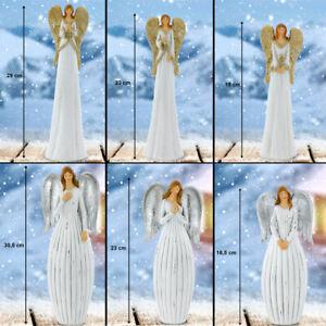 XMAS Paillettes Ange Noël Déco Figurines Hiver Table Décorations or argent neuf