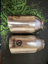 Takeda exhaust muffler 3.5in stainless rolled tips