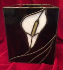 Stained Glass Tissue Box Cover
