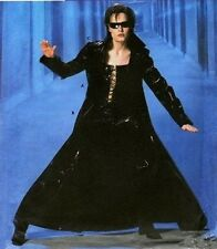 MATRIX TRINITY COSPLAY HALLOWEEN COSTUME SEWING PATTERN 6-8-10-12