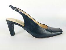 Moda Di Fausto Italian made Mid Heel Slingback Shoes Uk 5 Eu 38