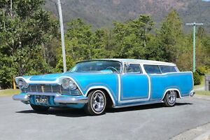 1957 Plymouth Suburban Low Rider BGS Classic Cars Chevrolet Buick Pontiac Ford