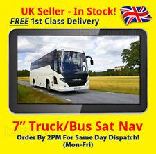 * Nouveau * BUS 7 in (environ 17.78 cm) Sat Nav [Modèle 2018] UK + EU Bus & Coach, Camion Sat Nav