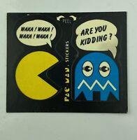Vintage Pac-Man Sticker Card #42 FLEER 1980