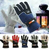 Outdoor Sport Ski Waterproof Windproof Winter Warm Mittens Touch Screen Gloves ~