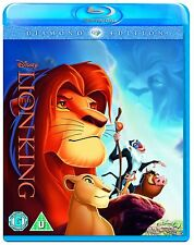 The Lion King - Diamond Edition - UK Region B Blu Ray - Walt Disney