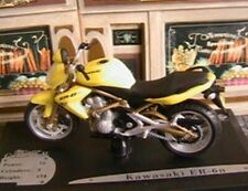 MOTO BIKE KAWASAKI ER-6n JAUNE 2005 SOLIDO COLLECTOR 1/18 METAL DIE CAST MODEL