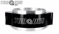 Torques Aluminium Black Quick release Intercooler Boost Pipe Clamp 3.0""