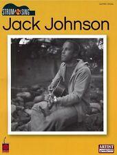Jack Johnson Strum And Sing Learn to Play Pop Lyrics Guitar Music Book