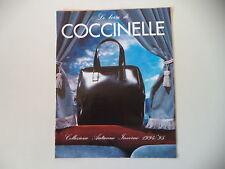 - CATALOGO DEPLIANT BROCHURE COCCINELLE AUTUNNO/INVERNO 1994/1995