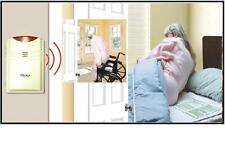 Wireless (CORDFREE) BED ALARM with bed & chair pads No alarm in patient's room