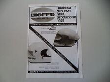 advertising Pubblicità 1975 CASCO BIEFFE INTEGRALE X 4001/X 2001