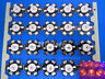 10pcs 3W High Power Yellow LED chip Light 70lm 585-595NM with 20mm Star base