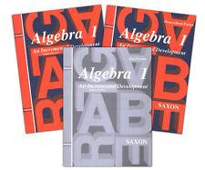 Saxon Algebra 1 3rd Edition Home Study Kit Homeschool - Grade 9 - NEW!