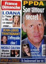 2004: LOANA_JEAN-LOUIS TRINTIGNANT_ELIE SEMOUN_PETER USTINOV_Pascal OBISPO
