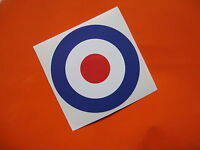 RAF Roundel style stickers/ decals x2