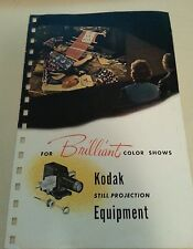 Vintage Kodak Camera Advertising Brochure - Slide Projectors - 1948