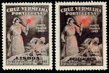 1926 Portugal Red Cross - Lisbon and Delegacoes versions