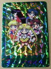 Vintage Rare 90s Vending Machine Sticker Sailor Moon Anime Characters Holo Card
