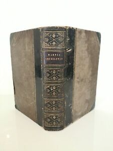 Charles Dickens - 1st Edition 1844 Martin Chuzzlewit Illustrated Leather Binding