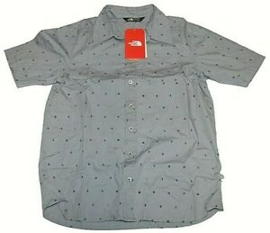 Boys The North Face Short Sleeve Button Up Baytrail Shirt New Size XL (18-20)
