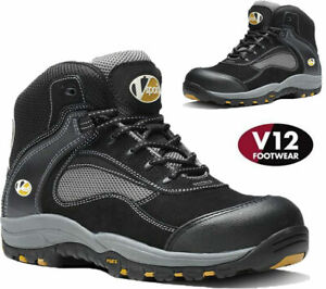 Mens V12 Safety Boots VS360 Track Non Metal Composite Toe Work Boots Hiker Shoes