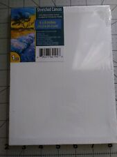 6 x 8 100% Cotton Stretched Canvas