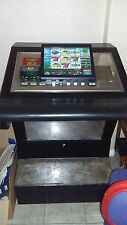 igt bartop slot machine in custom stand with 3448 board.over 80 slot keno poker