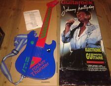 JOHNNY HALLYDAY INTROUVABLE Coffret electronic digital Guitare Guitarock 1989
