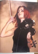 More details for the corrs 'red hair' magazine photo/poster/clipping 11x8 inches