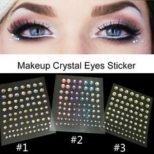 Colorful Rhinestone Sticker Eyeshadow Crystal Sticker Eye Liner Beauty Makeup