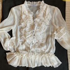 Authentic  Dior Boutique silk blouse 38 France size
